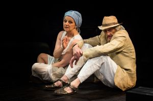 Gillian-Bevan-as-Hera-and-Richard-Bremmer-as-Zeus-in-THE-LAST-DAYS-OF-TROY-by-Simon-Armitage-Photo-Jonathan-Keenan